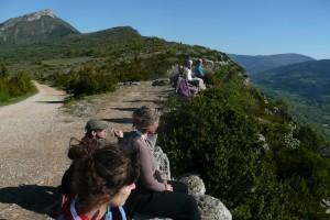 falaises groupe contemplation